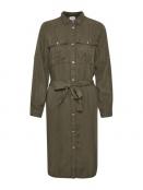 Kleid Emma von Saint Tropez in ArmyGreen