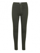 Stretchy Highwaist Jeans von Saint Tropez in Forest