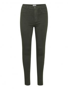 Stretchy Highwaist Jeans von Saint Tropez in Forest