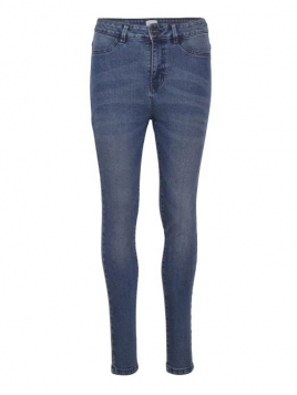 Stretchy Highwaist Jeans von Saint Tropez in MediumBlue