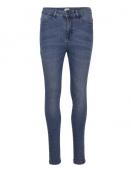 Stretchy Highwaist Jeans von Saint Tropez in MediumBlue