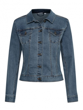 Jeansjacke von Saint Tropez in LightBlue