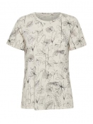 Kurzarm T-Shirt Alma von InWear in SketchFlowers