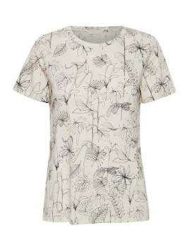 Kurzarm T-Shirt Alma von InWear in SketchFlowers