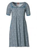 Kleid Alminas Drops von Du Milde in Blau