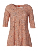 Shirt Wendys Leodots von Du Milde in Orange