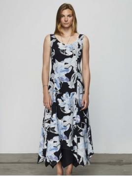 Kleid Kellos von Olars Ulla in FlowerBlack