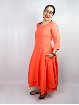 Kleid Kolin von Olars Ulla in Corall