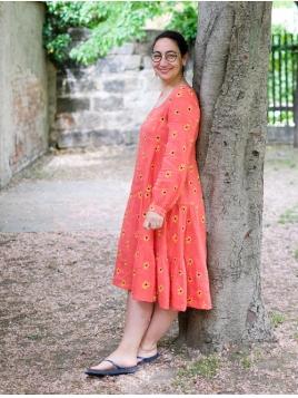 Kleid Kyanite von Nimo With Love in RedSunflower