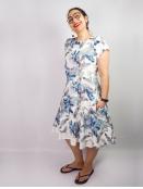 Kleid Krona von Olars Ulla in WhiteFlower