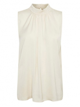 Top Aileen von Saint Tropez in Creme