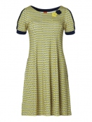 Kleid Golly Yellow Ninna von Du Milde