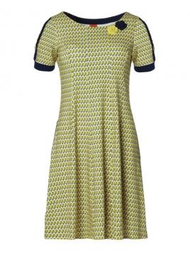 Kleid Golly Yellow Ninna von Du Milde