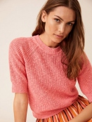 Pullover Delara von Part-Two in PeachBlossom