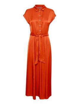 Kleid Dita von Part-Two in OrangeSunset