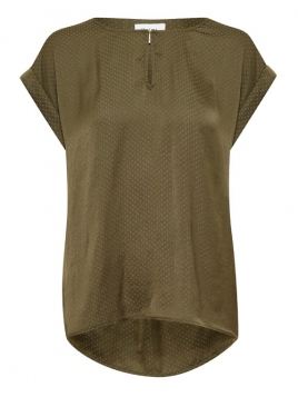 Blouse Briana von Saint Tropez in ArmyGreen