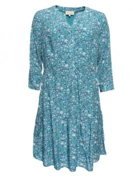 Kleid Phillina von Sorgenfri Sylt in aquamarine