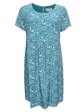 Kleid Laya von Sorgenfri Sylt in aquamarine