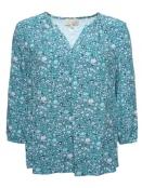 Blusenshirt Dyre von Sorgenfri Sylt in aquamarine