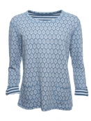Shirt Kari von Sorgenfri Sylt in denim