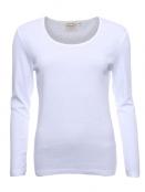 Langarmshirt Malin von Sorgenfri Sylt in white