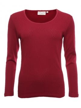 Langarm-Shirt Malin von Sorgenfri Sylt in purple