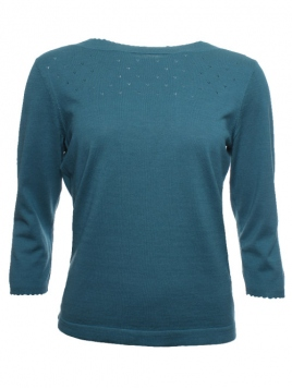 Shirt Annina von Sorgenfri Sylt in aquamarine