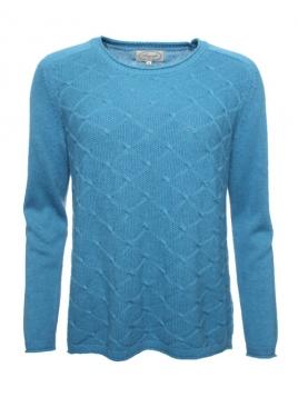Pullover Rigmar von Sorgenfri Sylt in aquamarine