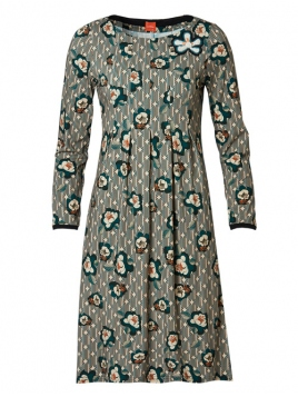 Kleid Alminas Wallpaper von Du Milde in Grün