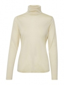Shirt Eyrun von Part-Two in Creme