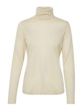 Shirt Eyrun von Part-Two in Creme