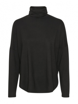 Rollkragenshirt Eala von Part-Two in Black