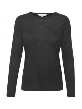 Langarmshirt Emaja von Part-Two in Black