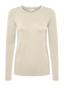 Langarmshirt Emaja von Part-Two in Creme