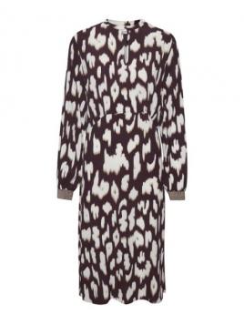 Kleid Cristy von Saint Tropez in AnimalPrint