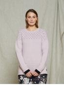 Pullover Salla von Olars Ulla in Pink