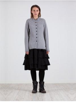 Strickjacke Softa von Olars Ulla in Grey