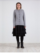 Strickjacke Softa von Olars Ulla in Grey