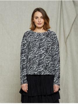 Pullover Toxy von Olars Ulla in Zebra