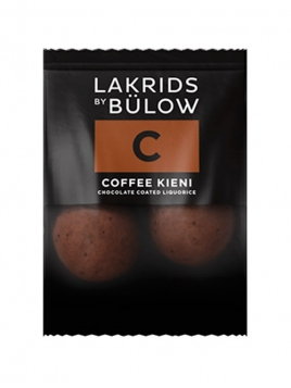 C - Coffee Kieni Choc coated Liquorice Mini (2 Kugeln) von Lakrids by Johan Bülow