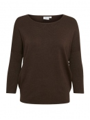 Pullover Mila von Saint Tropez in Brown