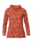 Blouse Albertas Warm Orange von Du Milde