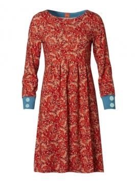 Kleid Alminas Warm Orange von Du Milde