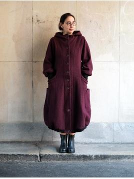 Mantel Repa von Olars Ulla in Purple