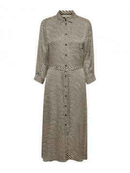 Kleid Fabrina von Part-Two in StripeBlack