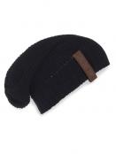 Mütze Coco von Knit Factory in Schwarz