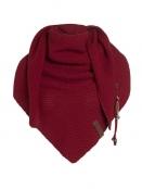 Dreiecksschal Coco von Knit Factory in Bordeaux