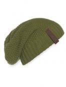 Mütze Coco von Knit Factory in Moosgrün