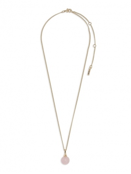 """Halskette """"Audre-Anne"""" vergoldet von Pilgrim in Rosa"""