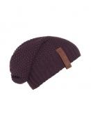 Mütze Coco von Knit Factory in Aubergine